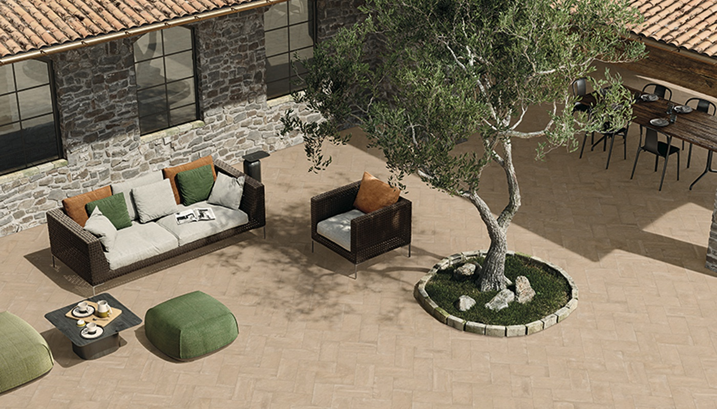 Externa Cotto outdoor sand terracotta 3119