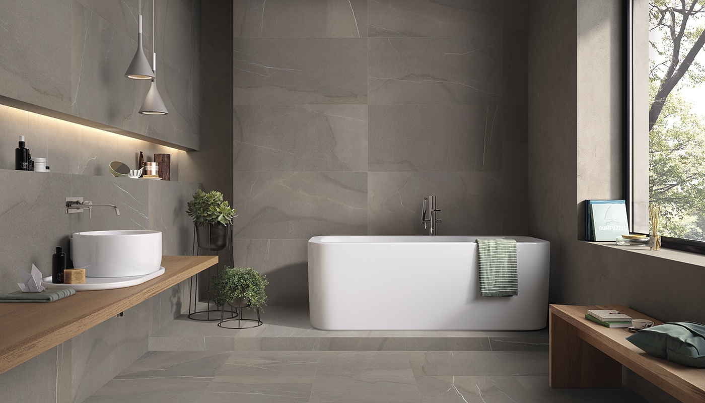 Piase bath grey  stone 936
