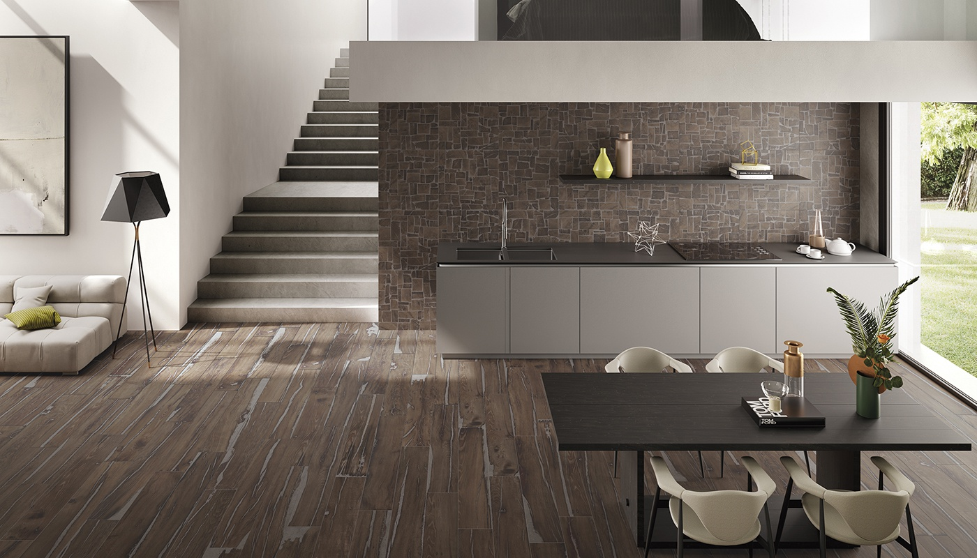 Alter kitchen brown wood 3208