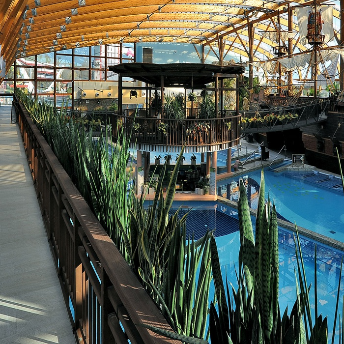 Restyling of Tatralandia water park  1098