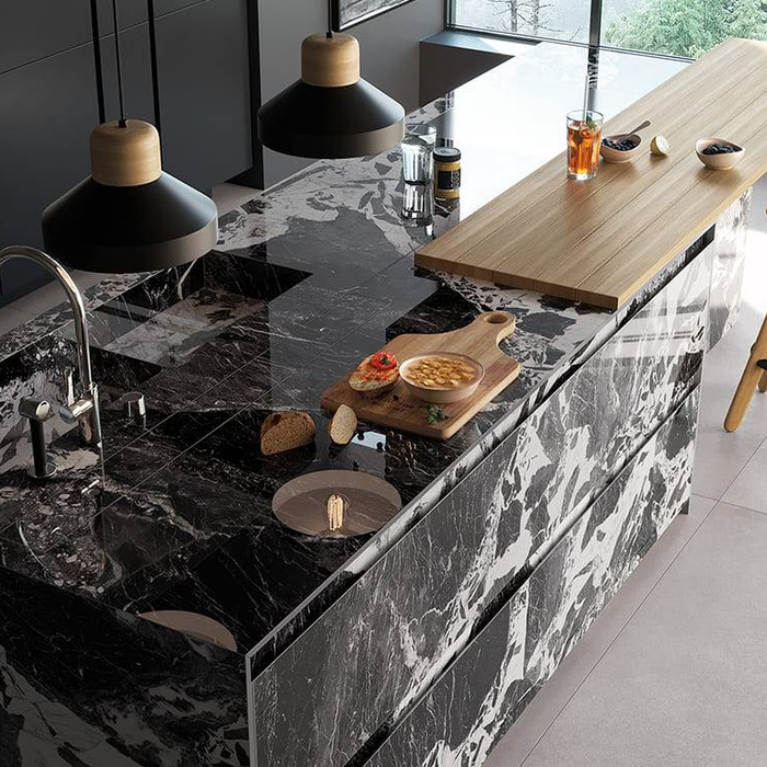 Kitchen coverings: how to choose the tiles for your kitchen 25
