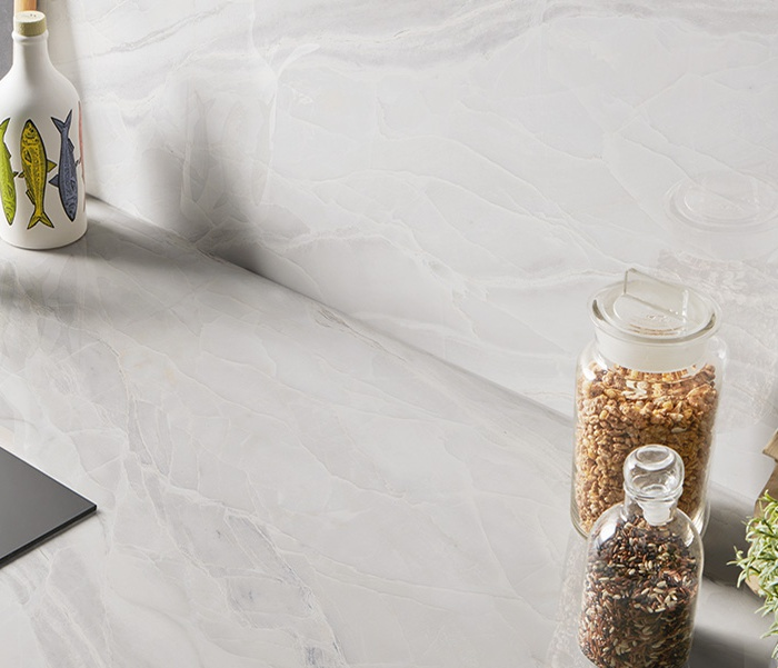 White marble effect tiles: the sustainable choice 166