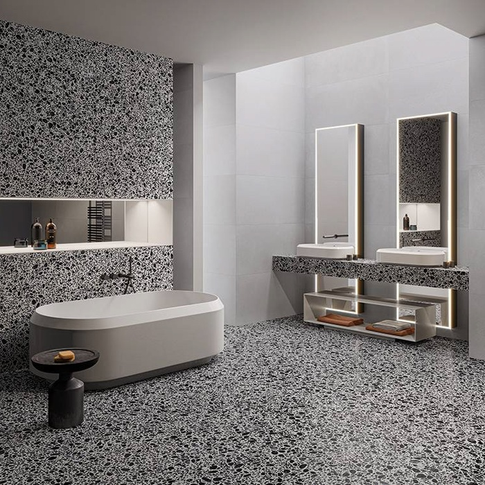 How textured bathroom tiles can make your bathroom stand out 16