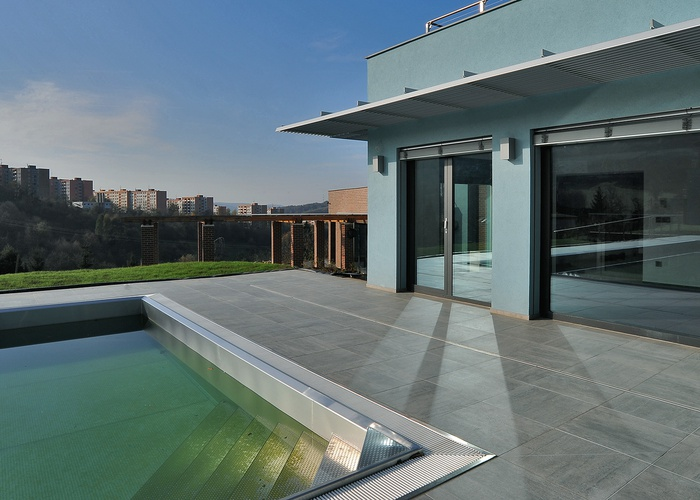 Restyling of the Zlin residential pool