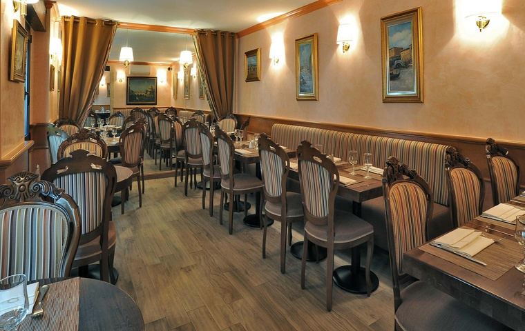 Restyling of Visconti restaurant