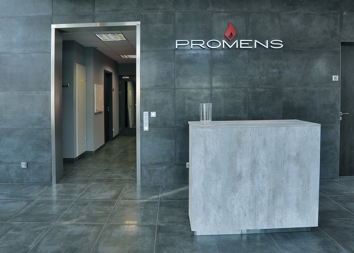 Restyling of the Promens headquarters